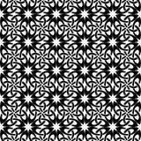 mönstrad fyrkanten svart white Royaltyfria Foton
