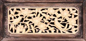 Mönstrad guld- tappning för gamla dörrar Royaltyfri Fotografi