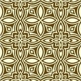 mönstrad seamless royaltyfri illustrationer
