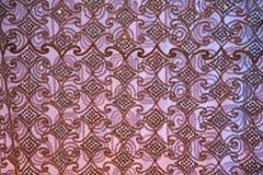 Mönstrade tyg-rosa färg Royaltyfri Foto