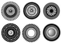 Mönstrar vektor illustrationer