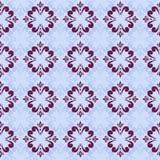 Mönstrar den seamless abstrakt begrepp för blått Royaltyfri Fotografi