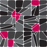 Mönstrar den seamless mosaiken för blandningen Arkivfoton