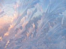 Is mönstrar på exponeringsglas Royaltyfri Foto