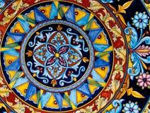 mönstrat keramiskt Fotografering för Bildbyråer