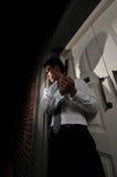 mördare för 22 medel Fotografering för Bildbyråer