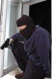 Mörder mit der Pistole Lizenzfreie Stockfotos
