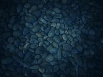 Mörk bakgrund med många modeller och texturer av stenen arkivfoton