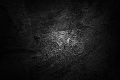 Mörk betongvägg Royaltyfri Foto