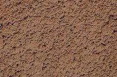 Mörk brun murbruk arkivbilder