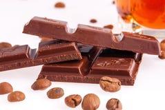 Mörk choklad Royaltyfri Foto