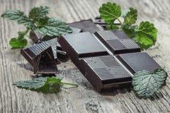 Mörk choklad Arkivfoton