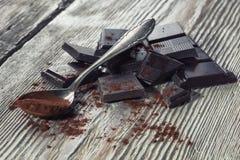 Mörk choklad Royaltyfri Bild