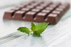Mörk choklad Royaltyfri Fotografi