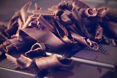 Mörk choklad Royaltyfria Bilder