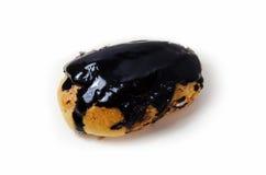Mörk chokladpralinPuff Arkivbilder