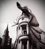 Mörk drake Arkivfoto