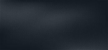 Mörk geometrisk polygonbakgrund, mörk abstrakt sexhörningstapet royaltyfria foton
