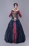 Mörk gotisk kvinna Royaltyfria Foton