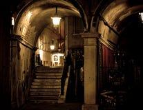 mörk gotisk plats Arkivbild