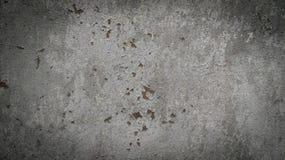 Mörk grå betongvägg Arkivbild