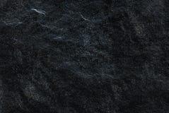 Mörk grå färgsvart kritiserar bakgrund eller textur som är detaljerade av den verkliga äkta stenen från naturen royaltyfri bild