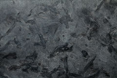 Mörk grå granit för matrisstentextur Arkivbilder