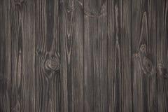 Mörk grå träbakgrund Arkivfoton