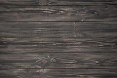 Mörk grå träbakgrund Arkivbilder