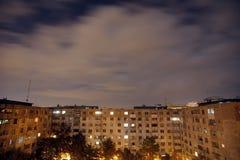 mörk grannskap Arkivbilder