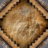 Mörk Grungemetallbakgrund Arkivbild