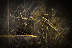 Mörk Grungemetallbakgrund Royaltyfri Foto