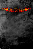mörk halloween affisch vektor illustrationer