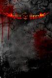 mörk halloween affisch stock illustrationer