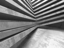 Mörk industriell bakgrund för abstrakt konkret arkitektur Royaltyfri Foto
