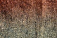Mörk kanfastextur Arkivbild