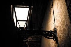 mörk lampa Royaltyfri Foto