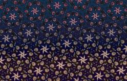 Mörk ljus mosaikhavsbottendykning Royaltyfri Bild