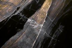 Mörk marmortextur Fotografering för Bildbyråer