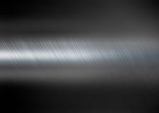 Mörk metalltexturbakgrund arkivbild