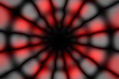 Mörk modell för mångfärgad radiell cirkel royaltyfria foton