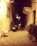 mörk natt Arkivbilder