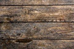 Mörk naturlig träplanka Arkivbild