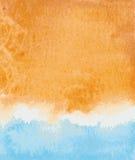 mörk paper vattenfärgyellow för forntida bakgrund Royaltyfri Foto