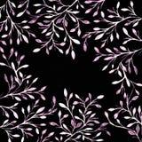 mörk paper vattenfärgyellow för forntida bakgrund Blommabild Blommor på en mäktig su Fotografering för Bildbyråer
