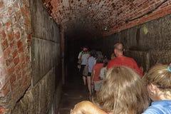 Mörk passage som går ut Royaltyfri Fotografi