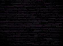 Mörk rosa tegelstenvägg för bakgrund Arkivfoton