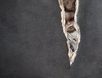 Mörk serie - spöklik docka för tappning stock illustrationer