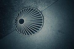 Mörk signalbakgrund med modeller och texturer av trottoarer arkivfoton