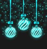 Mörk skimrande bakgrund för jul vektor illustrationer